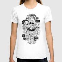 doom T-shirts featuring Liquid Doom by Allan Ohr