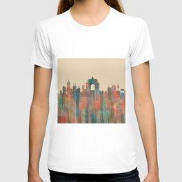 Wellington NZ Skyline - Navaho T-shirt
