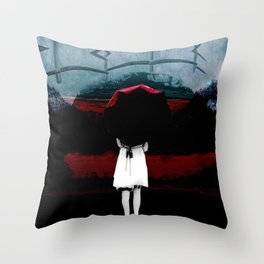 Heaven Is Perfect For Hell Throw Pillow
