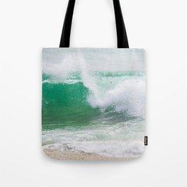 Rushing Wave Tote Bag