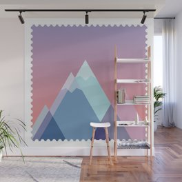 Stamp series - Everest Wall Mural