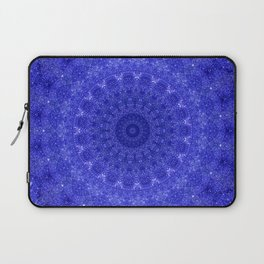 Cosmos Mandala II Cobalt Blue Laptop Sleeve