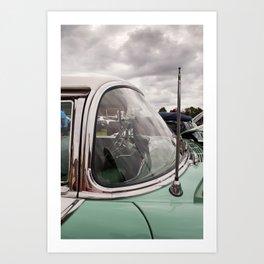 Vintage Car 3 Art Print