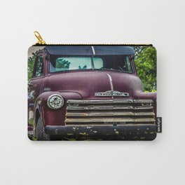 Vintage Old Truck 1950's Carry-All Pouch