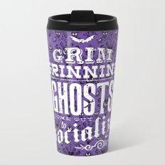 Haunted Mansion - Grim Grinning Ghosts Metal Travel Mug