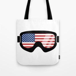 USA Goggles   Goggle Designs   DopeyArt Tote Bag