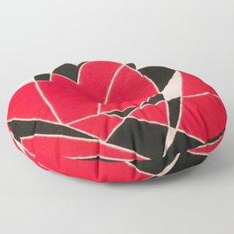Hearts in Motion Floor Pillow