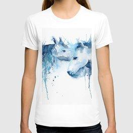 Watercolor Horse Love T-shirt