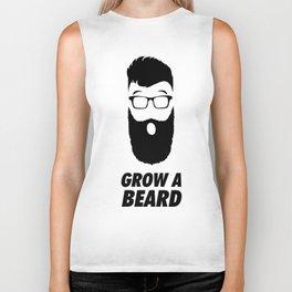 Grow a Beard Biker Tank