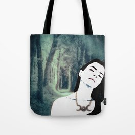 Witch In the Woods Tote Bag
