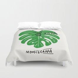 Monstera Duvet Cover
