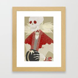 Bone Daddy Framed Art Print