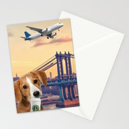 Bree in New York Stationery Cards