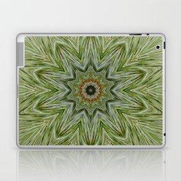White pine kaleidoscope/mandala II Laptop & iPad Skin