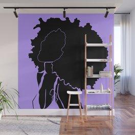 purple Wall Mural
