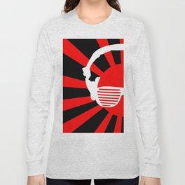 Rising DJ Red Long Sleeve T-shirt