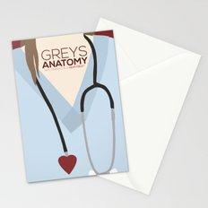 Greys Anatomy: Minimalist Poster Stationery Cards