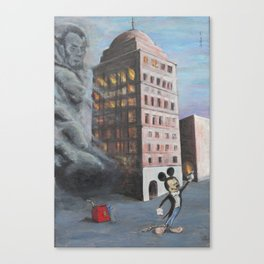 Bank of Babel Canvas Print
