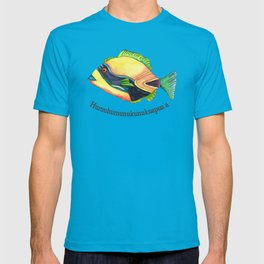 H is for Humuhumunukunukuapua'a T-shirt