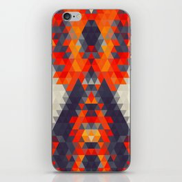 Abstract Triangle Mountain iPhone Skin