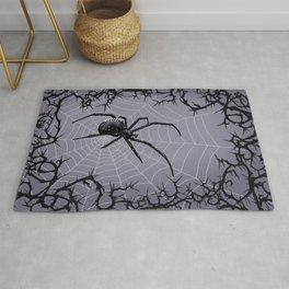 Briar Web - Gray Rug