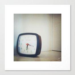 Clock! Canvas Print