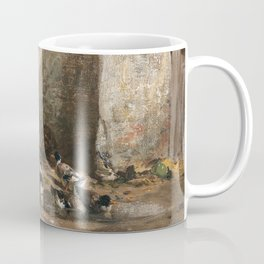Cornelis Bisschop Decorative Scene Coffee Mug