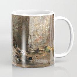 Cornelis Bisschop Decorative Scene Coffee Mug