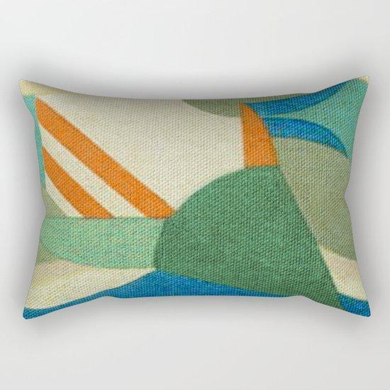 Caprichoso (Parintins - Brasil) Rectangular Pillow