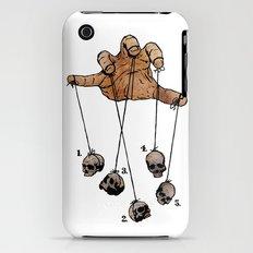 The Five Dancing Skulls Of Doom iPhone (3g, 3gs) Slim Case