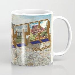 Retro Greetings Postcard (Earth Kingdom) Coffee Mug