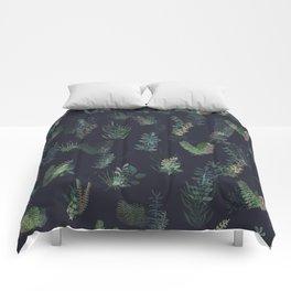 green garden at nigth mirror!!! Comforters