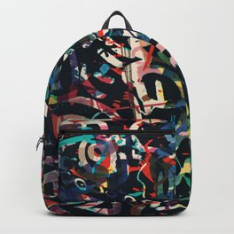 Graffiti Abstract Art Spray Paint Backpack