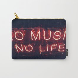 No Music No life Carry-All Pouch