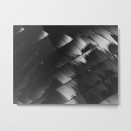 Shadows of a mountain Metal Print