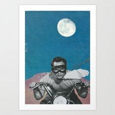 The Last Man on Earth  Art Print