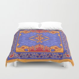Magic Carpet Duvet Cover