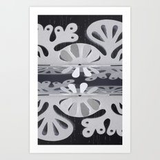 Paper Cut Double Dream Art Print