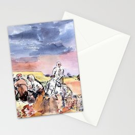 Working in the Fields - Digital Remastered Edition Stationery Cards