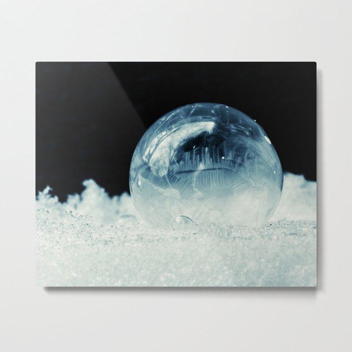 frozen little world Metal Print