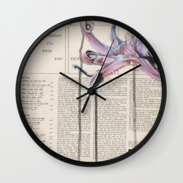 His Master's Voice - The Octopus Wall Clock