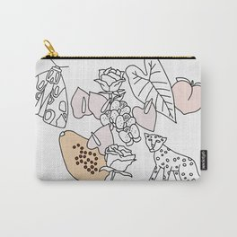Jungle Friends Carry-All Pouch