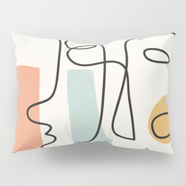 Abstract Faces 31 Pillow Sham