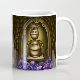 Medieval robot miner Coffee Mug