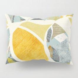 modern mid century, Graphic art, neutral colors, geometric art, circles, modern painting, abstract p Pillow Sham