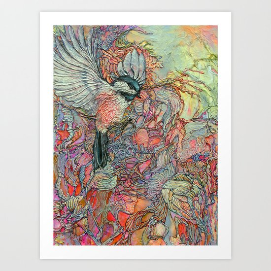 Remembering Delight Art Print