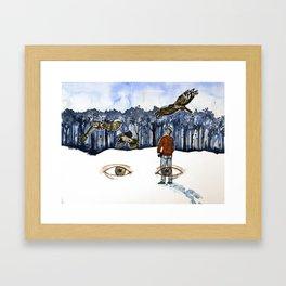 Europe's Skies Framed Art Print