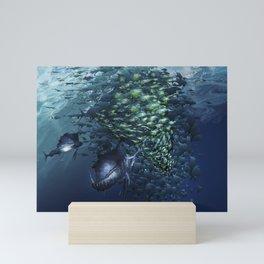 SAILFISH HUNTER Mini Art Print