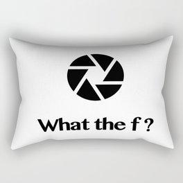 What the f ? Rectangular Pillow
