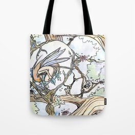 Birth of a Fairy Tote Bag